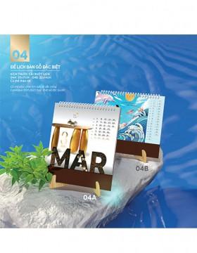 Lịch lò xo 7 tờ BS22 - Bứt phá thành công