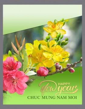 Thiếp chúc mừng năm mới - 1927