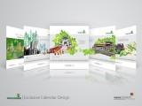 Thiết kế lịch độc quyền - Giải pháp truyền thông thương hiệu