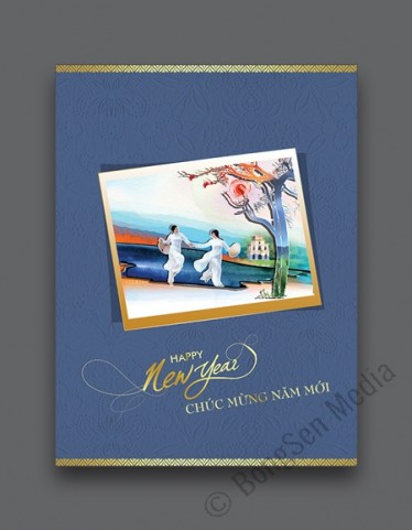Bưu thiếp năm mới 1820